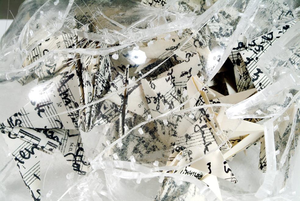 Este Galashire - Unsichtbares II, Detail