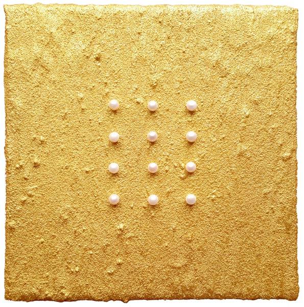 Este Galashire - 12 Perlen auf Goldsand