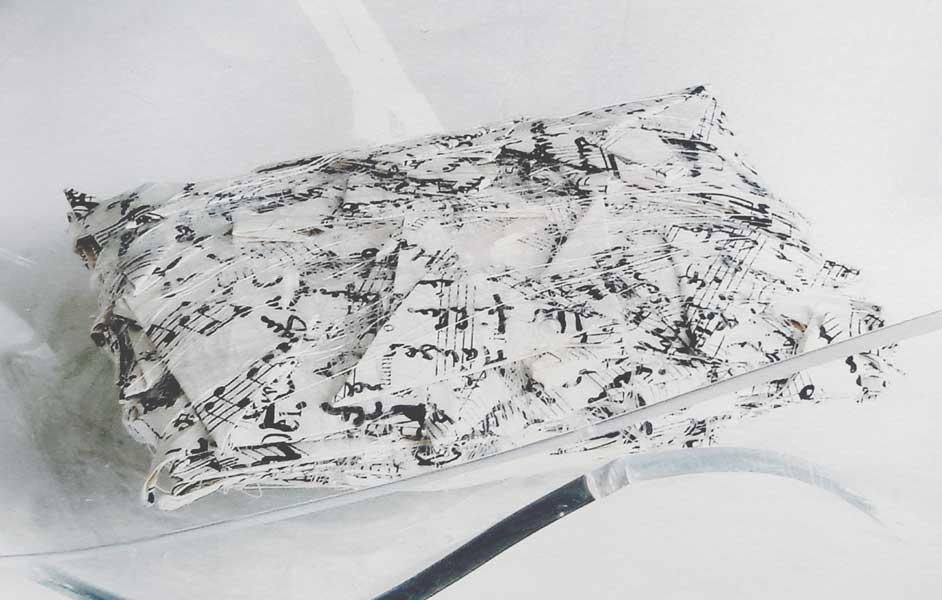 Este Galashire - Unsichtbares IV, Detail
